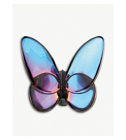 BACCARAT Lucky Butterfly ornament (Blue+scarabee