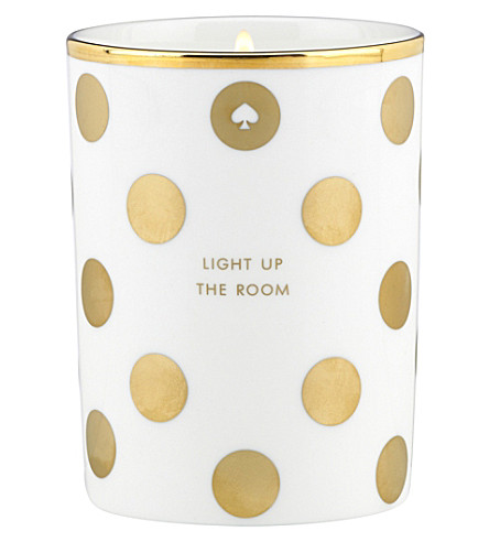 KATE SPADE Light Up The Room scented candle 295g