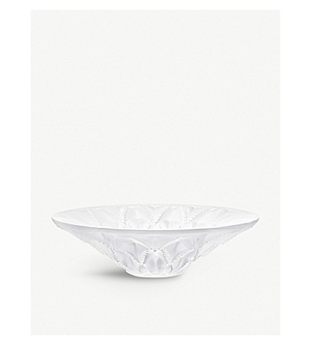LALIQUE Languedoc medium crystal bowl (Clear