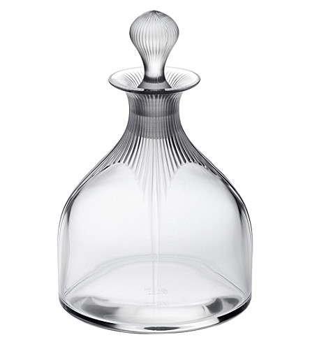 LALIQUE 100 Points wine decanter (Clear