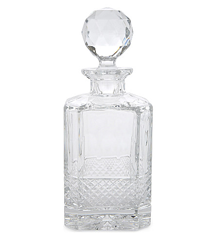 ROYAL SCOT CRYSTAL Belgravia lead crystal decanter (Clear