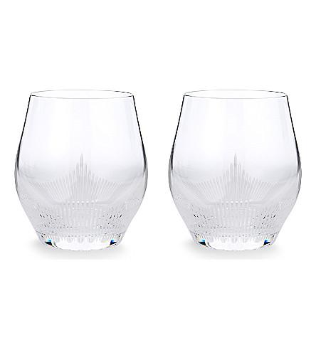 LALIQUE 100 点大水晶酒杯 (清楚