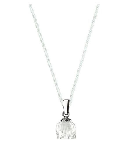 LALIQUE 铃兰水晶挂件 (清, + 英镑