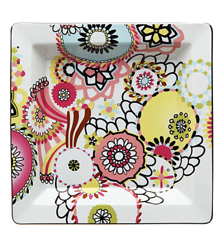 MISSONI HOME Margherita graphic porcelain tray