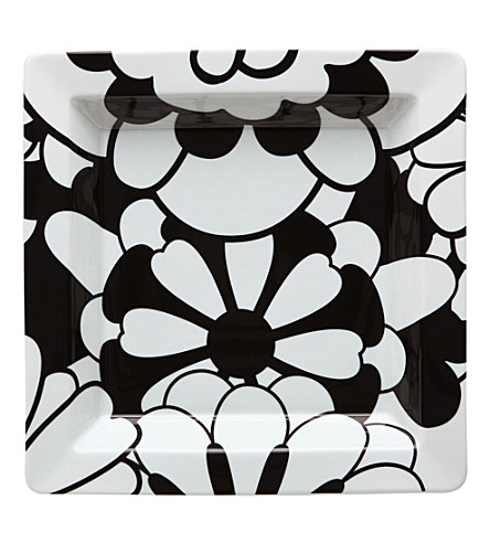 MISSONI HOME Bianconero graphic porcelain tray