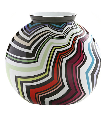 MISSONI HOME Zigo porcelain vase