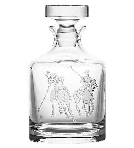 RALPH LAUREN HOME Garrett crystal decanter