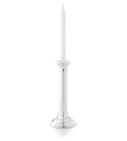 RALPH LAUREN HOME Durban large silver-plated candlestick