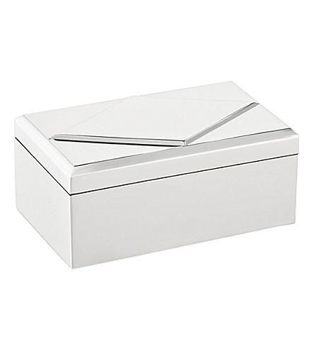 RALPH LAUREN HOME Arnett silver-plated trinket box