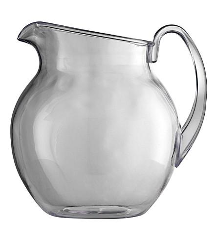 MARIO LUCA GIUSTI Paller pitcher acrylic jug