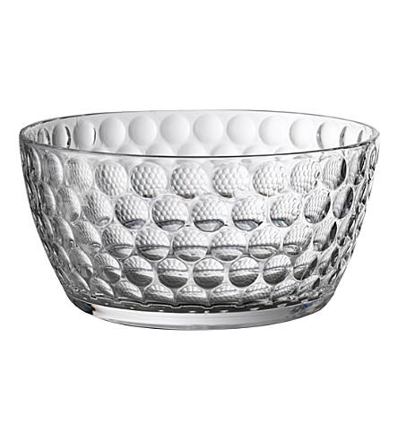 MARIO LUCA GIUSTI Lente acrylic salad bowl 25.5cm