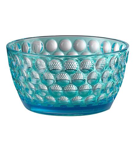 MARIO LUCA GIUSTI Lente acrylic salad bowl