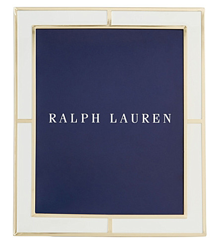 "RALPH LAUREN HOME Classon photo frame 8"" x 10"""