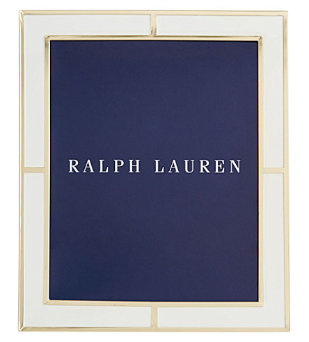 "RALPH LAUREN HOME Classon photo frame 5"" x 7"""