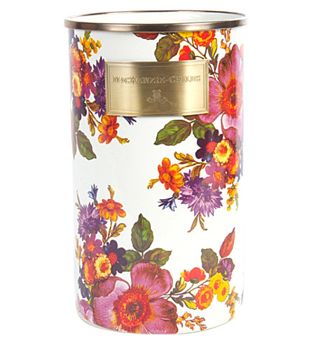 MACKENZIE CHILDS Flower market enamel utensil holder