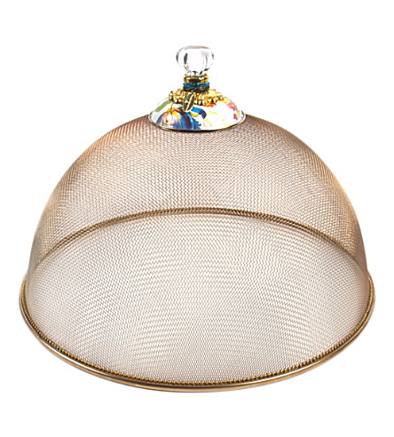 MACKENZIE CHILDS Flower market large mesh dome