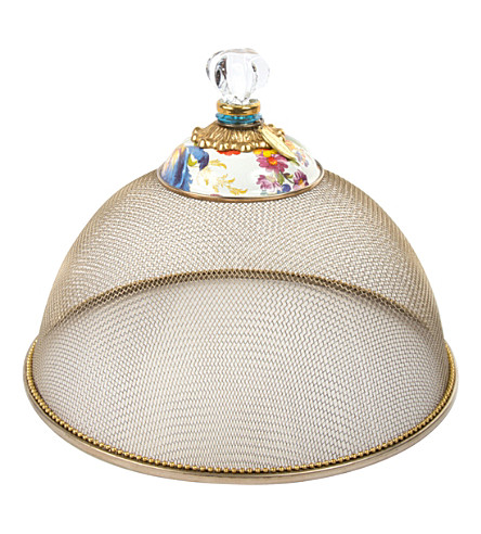 MACKENZIE CHILDS Flower market small mesh dome