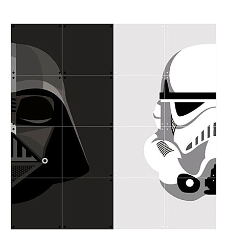 IXXI Storm Trooper and Darth Vader wall print