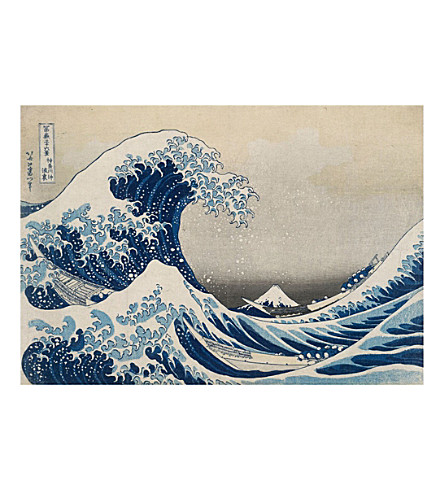 IXXI The Great Wave wall print large