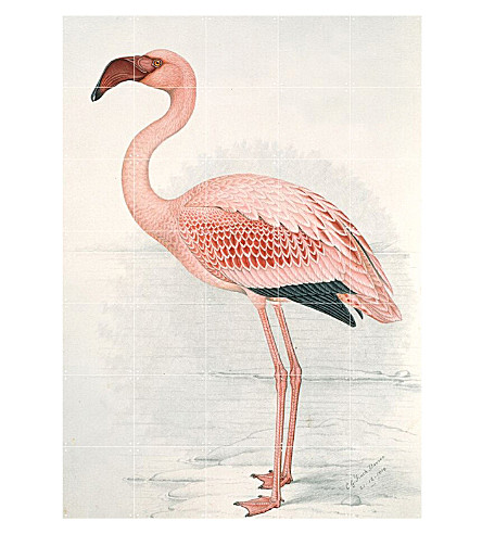 IXXI Flamingo wall print large