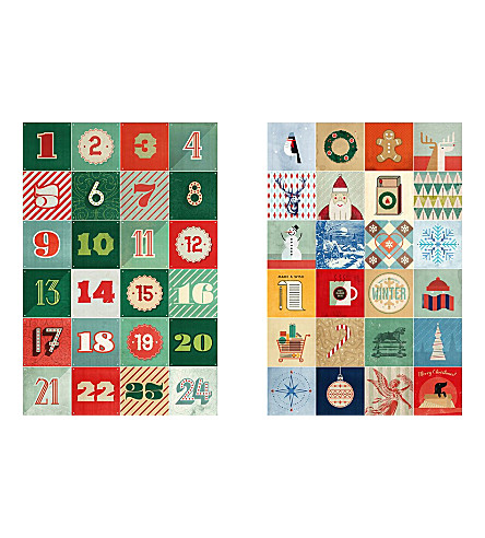 IXXI Hannes Beer Advent Calendar wall decoration