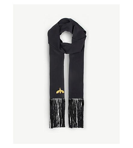 BEATRICE JENKINS Bee Lux silk scarf