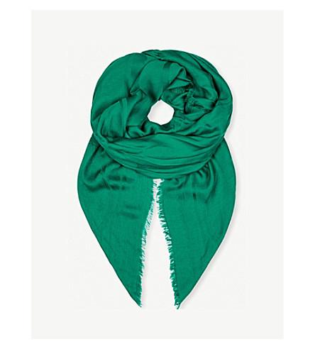 碧翠丝詹金斯签名蜂毛和真丝混纺围巾