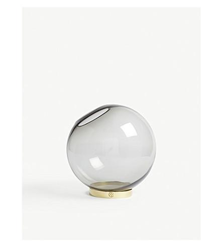 Aytm Globe Large Round Glass Vase Selfridges