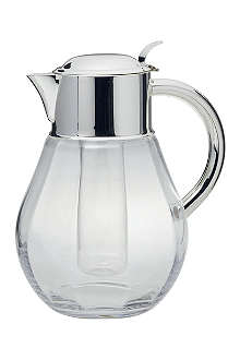 ERCUIS Boule crystal and silver jug