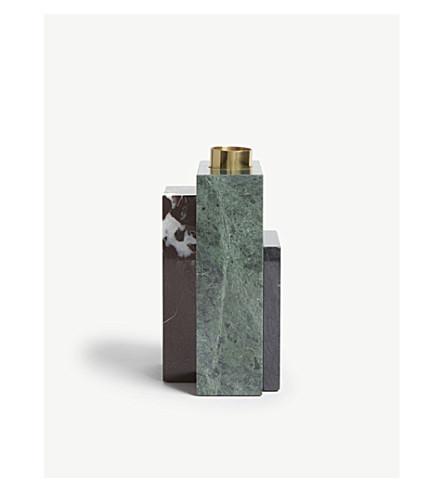 AYTM Frustum marble high candle holder