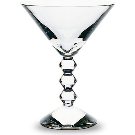 BACCARAT Vega Martini glass (Clear
