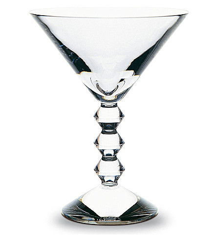 BACCARAT Vega Martini glass (Clear
