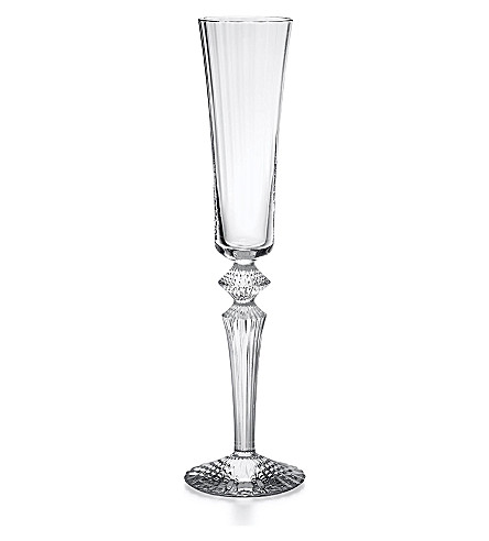 BACCARAT Mille Nuits champagne flute (Clear