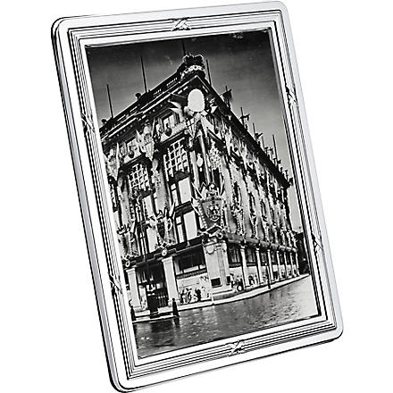 CHRISTOFLE Rubans photo frame (Silver