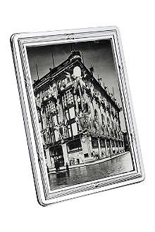 CHRISTOFLE Rubans silver photo frame