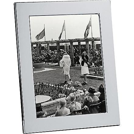 CHRISTOFLE Fidelio silver photo frame 18 x 24cm (Silver