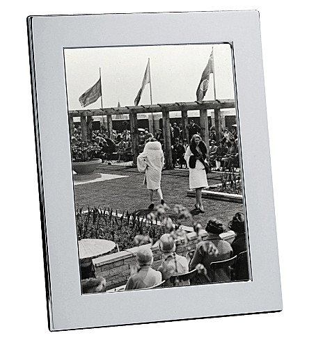 CHRISTOFLE Fidelio silver photo frame 18 x 24cm (Silver