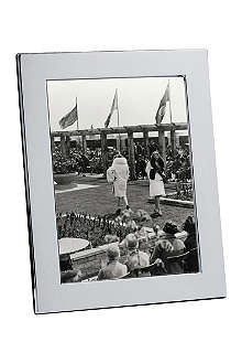 CHRISTOFLE Fidelio silver photo frame 13 x 18cm