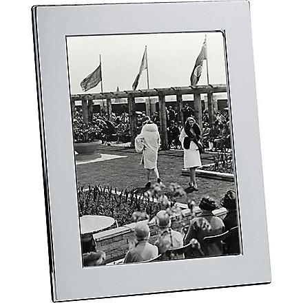 CHRISTOFLE Fidelio silver photo frame 13 x 18cm (Silver