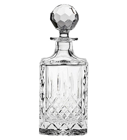 ROYAL SCOT CRYSTAL Edinburgh crystal spirit decanter (Clear