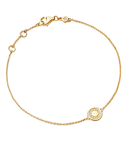 ASTLEY CLARKE Mini cosmos yellow gold and diamond bracelet