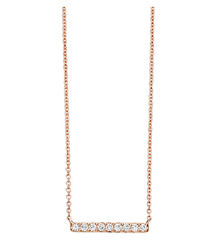ASTLEY CLARKE Small linia halo necklace