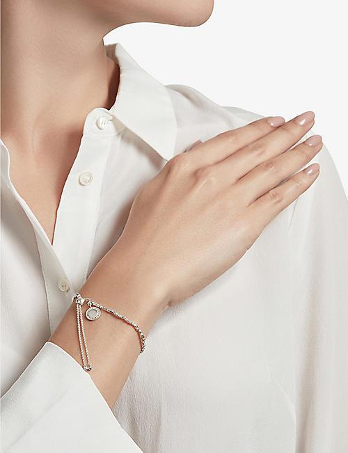 ASTLEY CLARKE Cosmos sterling silver and sapphire kula bracelet