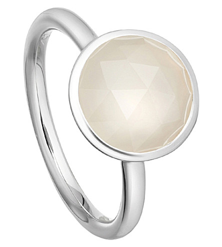 ASTLEY CLARKE Stilla sterling silver moonstone ring