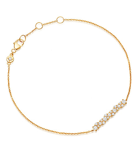 ASTLEY CLARKE Linia Interstellar 14ct yellow gold and diamond bracelet (Yellow gold
