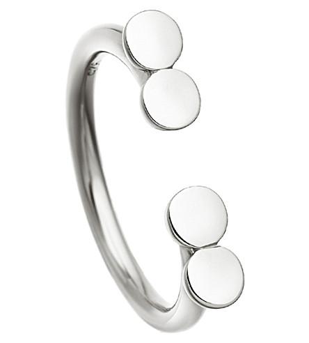 ASTLEY CLARKE 很多双碟纯银戒指 (斯特林 + 银