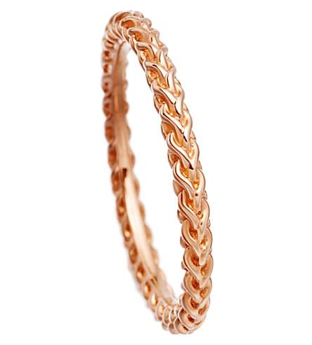 ASTLEY CLARKE 很多 Spiga 18ct 玫瑰镀金链环 (玫瑰 + 文梅尔