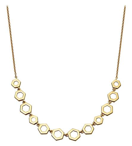 ASTLEY CLARKE 蜂窝14ct 黄金项链 (黄 + 金)