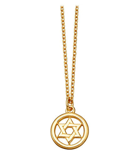 ASTLEY CLARKE Star of david biography pendant