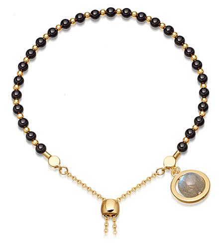 ASTLEY CLARKE Saturn kula 18ct gold plated sterling silver bracelet